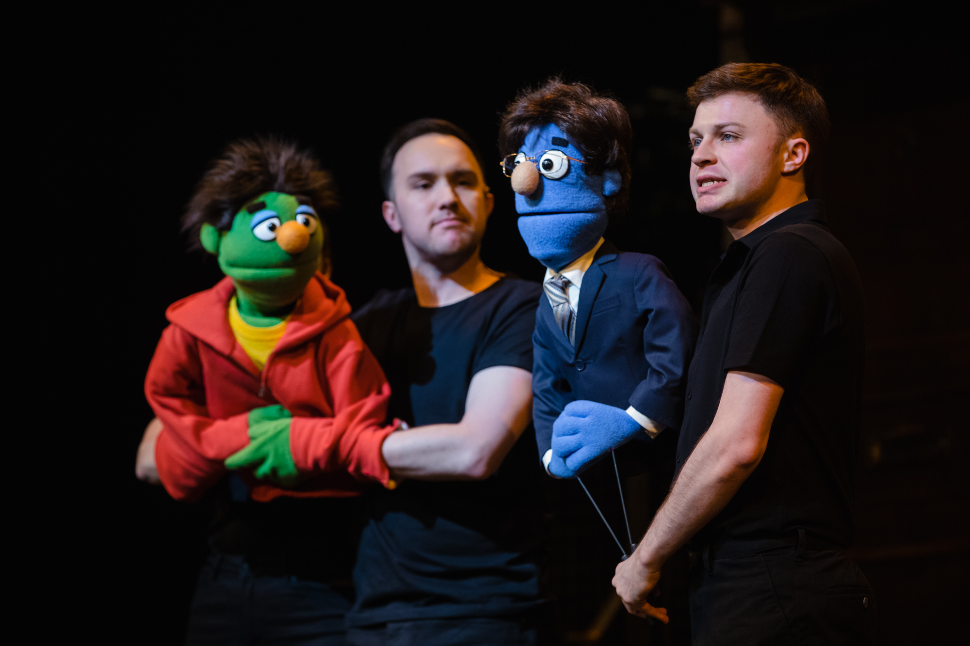 Avenue Q Christmas Eve.Avenue Q Hackney Empire